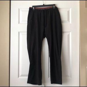 heartsoul black scrub pants